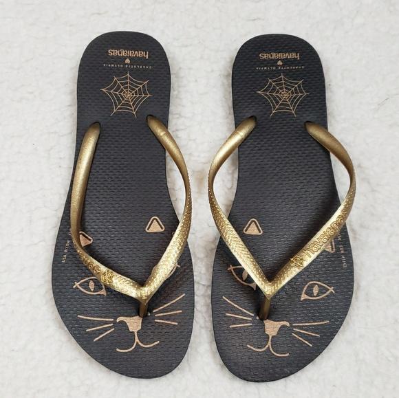 fc1638bbf4b8 Havaianas Shoes - Havaianas x Charlotte Olympia Kitty Sandals 9 10
